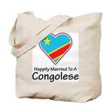 Happily Married Congolese Tote Bag