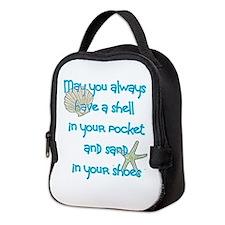 Unique Shells Neoprene Lunch Bag