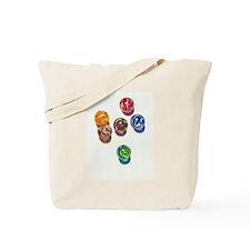 Sunlit Marbles Tote Bag