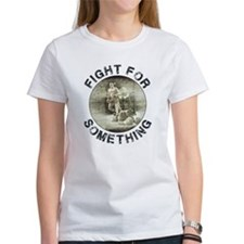 Intimidate Ladies White T-Shirt