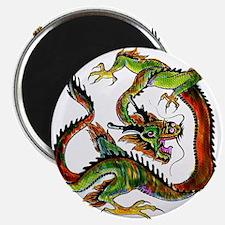 Not Draggin' Dragon Magnet