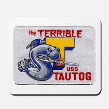 USS TAUTOG Mousepad