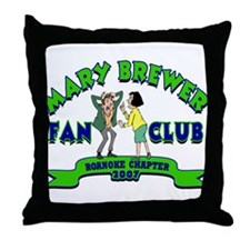Funny Brewer Throw Pillow