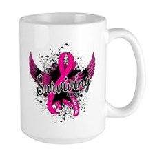 Surviving Since 2010 Breast Cancer Mug