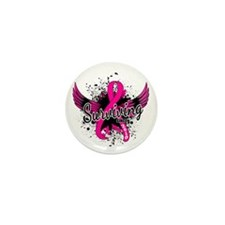 Surviving Since 2010 Breast Cancer Mini Button