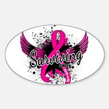 Surviving Since 2010 Breast Cancer Decal
