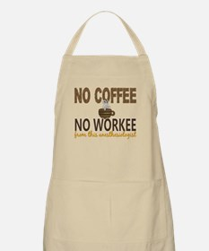 Anesthesiologist No Coffee No Workee Apron