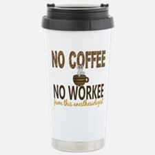 Anesthesiologist No Cof Stainless Steel Travel Mug