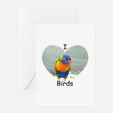BIRTHDAY BIRD Greeting Cards (Pk of 10)