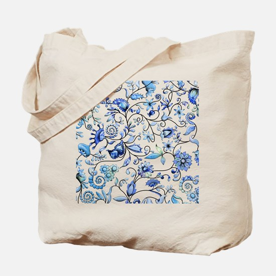 Blue Onion Tote Bag