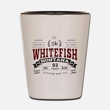Whitefish Vintage Shot Glass