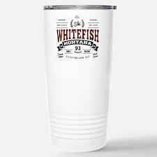 Whitefish Vintage Stainless Steel Travel Mug