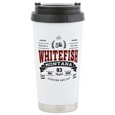 Whitefish Vintage Travel Mug