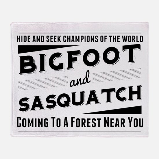 Bigfoot And Sasquatch Hide And Seek Champions Thro