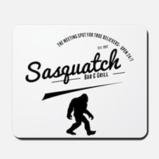 Sasquatch Bar And Grill Mousepad