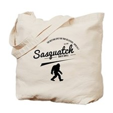 Sasquatch Bar And Grill Tote Bag