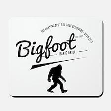 Bigfoot Bar And Grill Mousepad