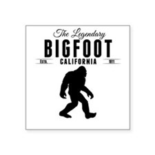 Legendary Bigfoot California Sticker