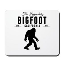 Legendary Bigfoot California Mousepad