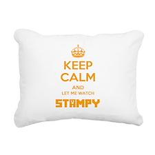 Let Me Watch Stampy Rectangular Canvas Pillow