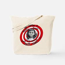 Talky Tina Tote Bag