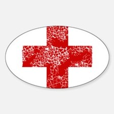 red cross Decal