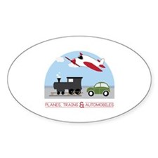 Planes,Trains& Automobiles Decal