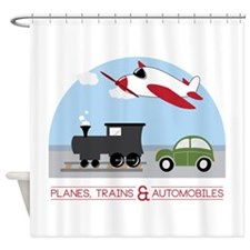 Planes,Trains& Automobiles Shower Curtain