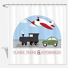 Planes,Trains& Automobiles Shower Curtain