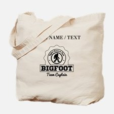 Custom Bigfoot Research Team Captain Tote Bag
