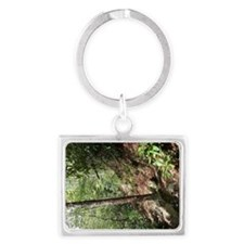 Funny Outdoor camping Landscape Keychain