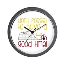 Dont Forget Wall Clock