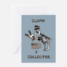 Clamp Collector Greeting Card