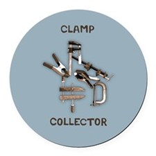 Clamp Collector Round Car Magnet