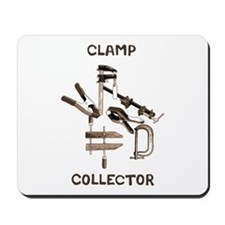 Clamp Collector Mousepad
