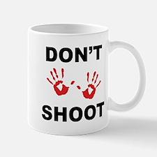 Hands Up - Don't Shoot Mugs