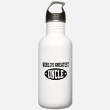 World's greatest uncle Water Bottle