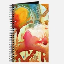 Funny Abstract art Journal