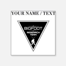 Custom Bigfoot Research Team Triangle Sticker