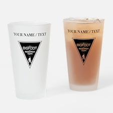 Custom Bigfoot Research Team Triangle Drinking Gla