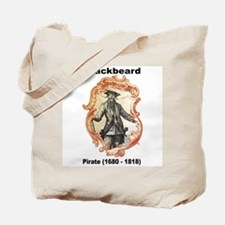 Blackbeard Pirate Tote Bag