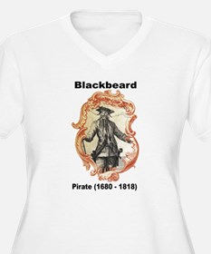 Blackbeard Pirate (Front) T-Shirt