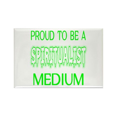 ...Spiritualist Medium... Rectangle Magnet