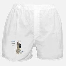 Brindle Best Friend Boxer Shorts