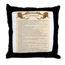 Cool Open marriage Throw Pillow