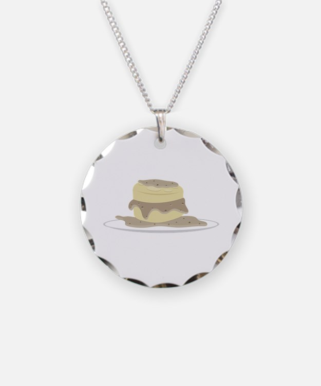 Biscuits and Gravy Necklace