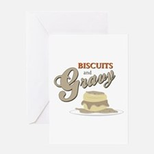 Biscuits & Gravy Greeting Cards