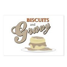 Biscuits & Gravy Postcards (Package of 8)