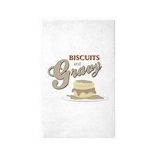 Biscuits & Gravy 3'x5' Area Rug