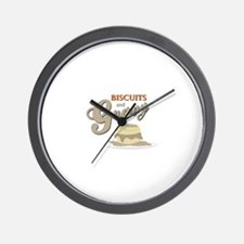 Biscuits & Gravy Wall Clock